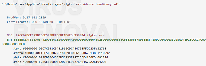ifgker.exe adware