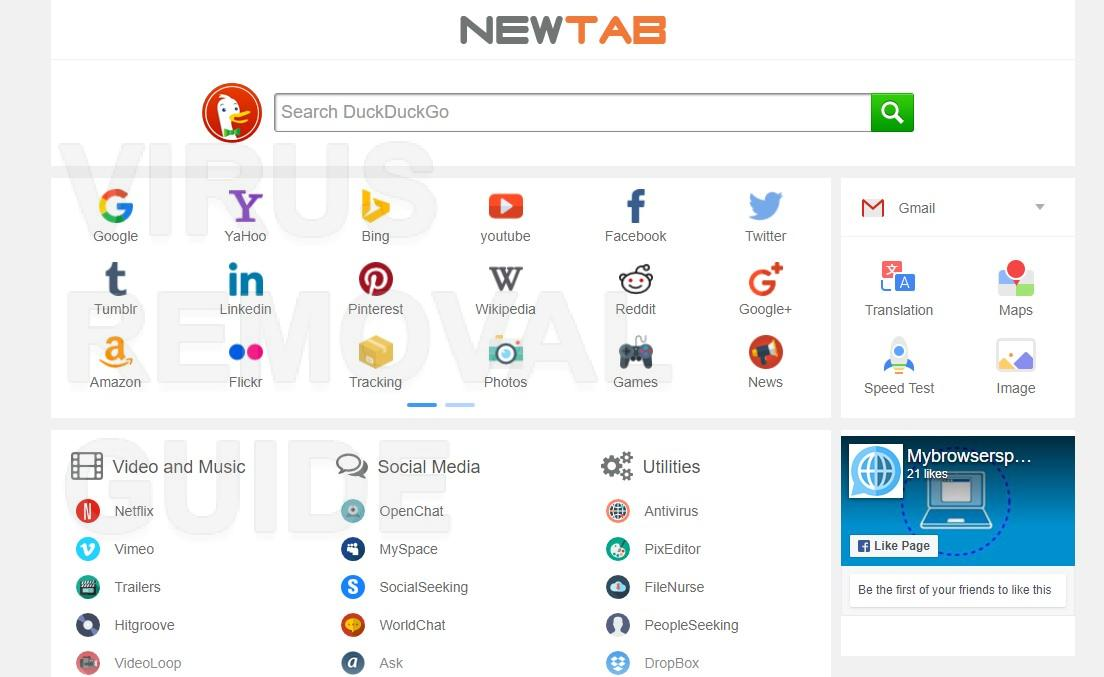how to change firefox open new tab to blank