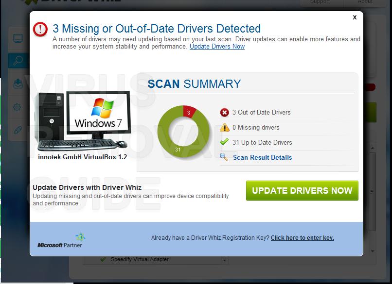 Driver Whiz adware