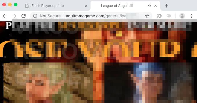 Adultmmogamecom Malware Porno Fenêtres Pop Up Comment Bloquer