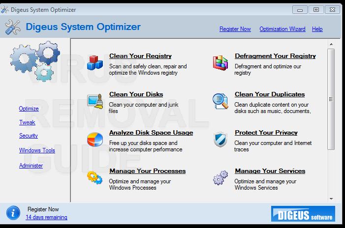 Digeus System Optimizer