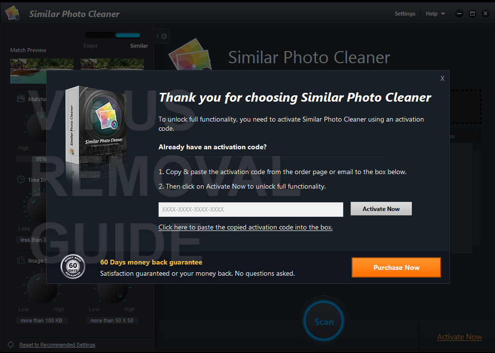 Similar Photo Cleaner adware